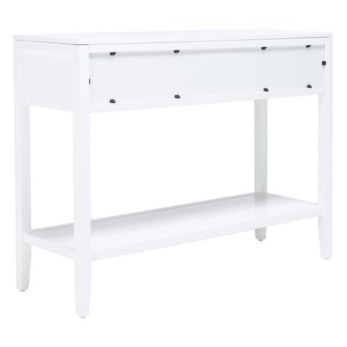 Safavieh - Tegan 2 Drawer Console Table - White