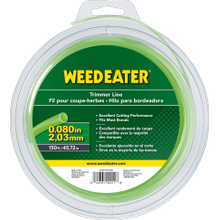"""Weed Eater Trimmer Lines .080"""" x 150' Round Trimmer Line"""