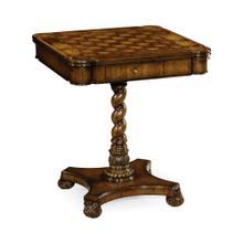 Oyster veneer games table