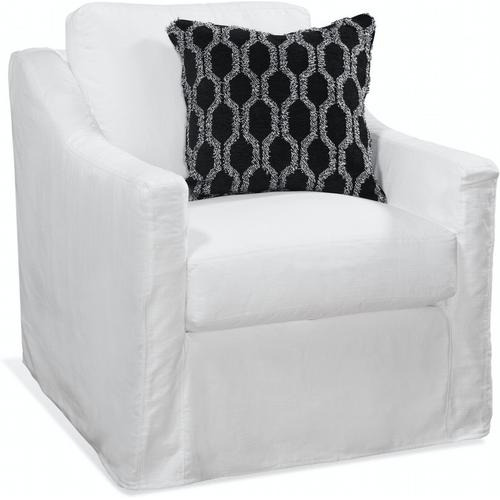 Braxton Culler Inc - Oliver Chair with Slipcover