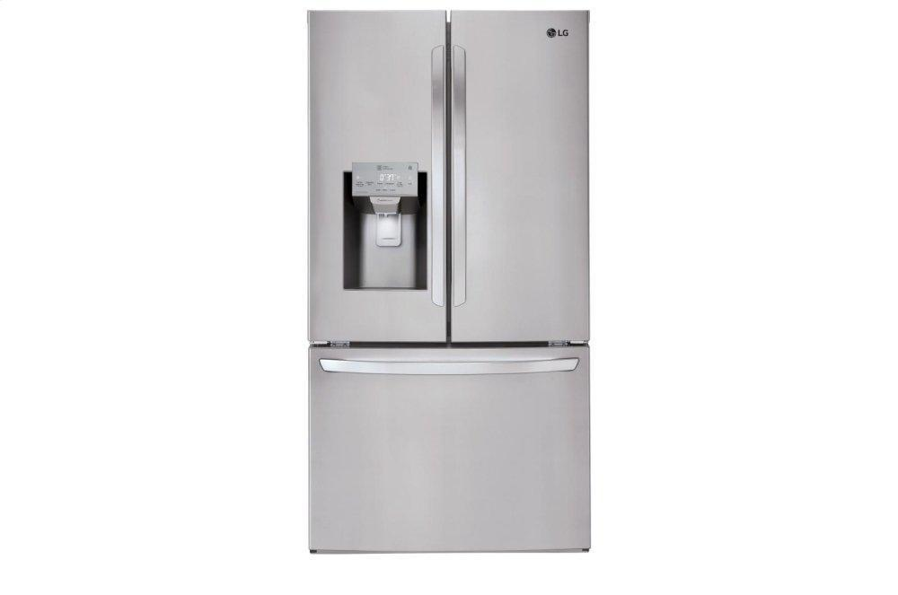 Lg26 Cu. Ft. Smart Wi-Fi Enabled French Door Refrigerator