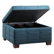 Detour Strap Storage Ottoman With Tray