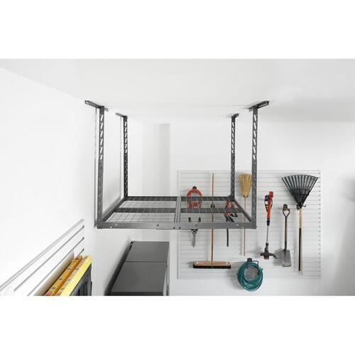 Overhead GearLoft Storage Rack 4x4 ft