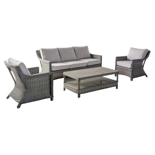 Lacey 4 pc Sofa Set Sunbrella Cushion Inclusive