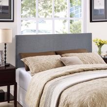View Product - Region Queen Upholstered Headboard in Smoke
