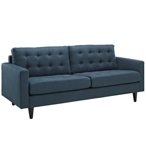 Modway - Empress Sofa, Loveseat and Armchair Set of 3 in Azure
