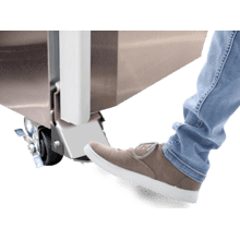 HS-5379, Foot Pedal for Right-Hinged Door
