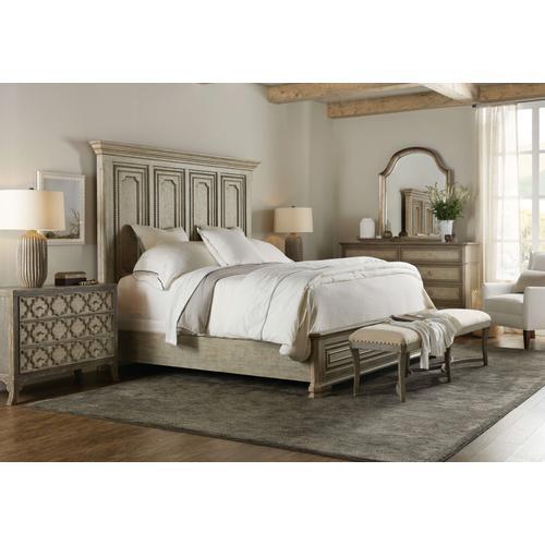 Alfresco Leonardo Cal King Mansion Bed