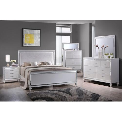 Miami White Bedroom