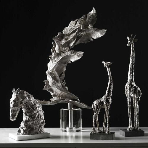 Masai Giraffe Figurines, S/2