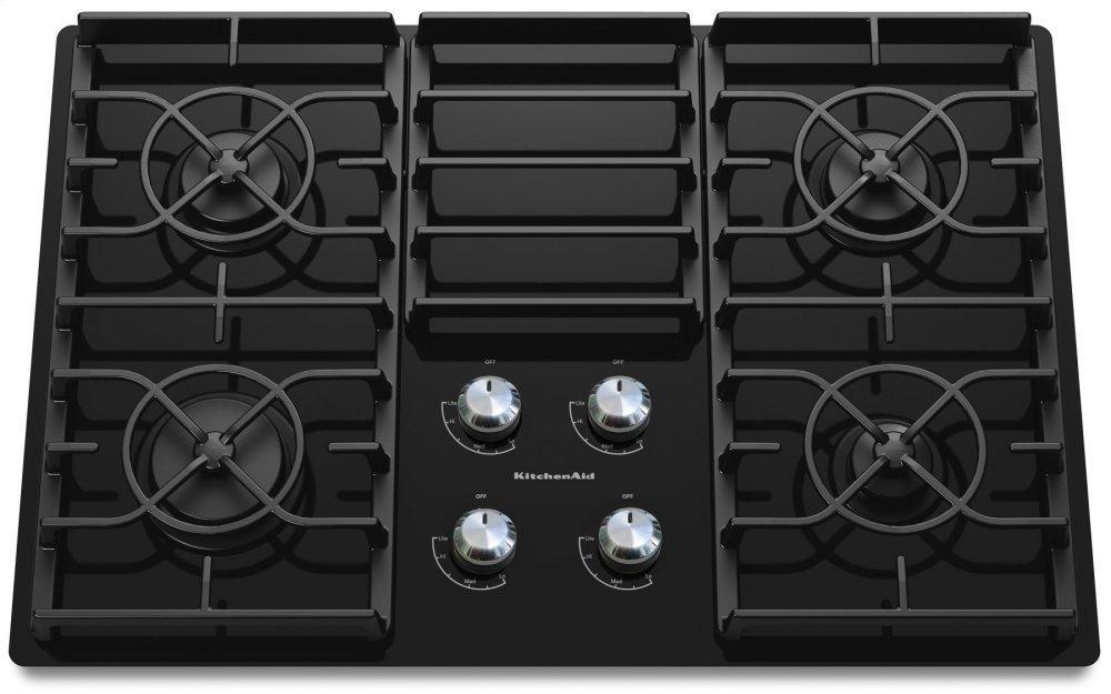 Kitchenaid30-Inch 4 Burner Gas Cooktop, Architect® Series Ii - Black