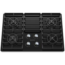 "30-Inch 4 Burner Gas Cooktop, Architect® Series II - Black ""OUT OF BOX"""