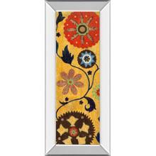 """Persia I"" By Tava Studios Mirror Framed Print Wall Art"