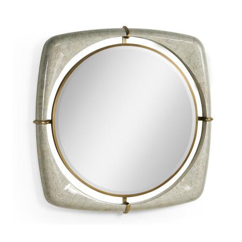 "Toulouse 42"" Eggshell Mirror"