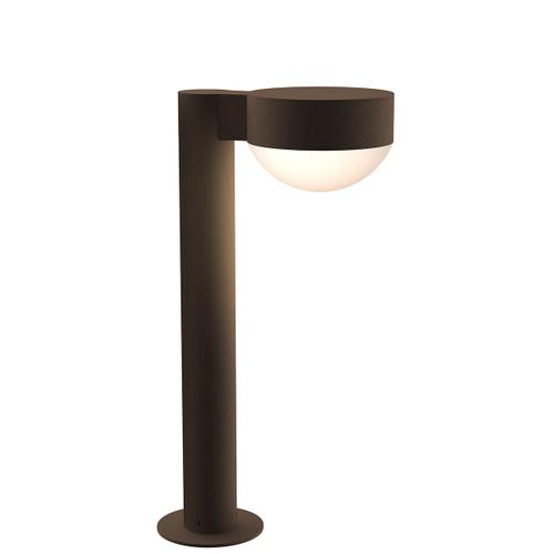 """Sonneman - A Way of Light - REALS® LED Bollard [Size=16"""", Color/Finish=Textured Bronze, Lens Type=Plate Cap and Dome Lens]"""