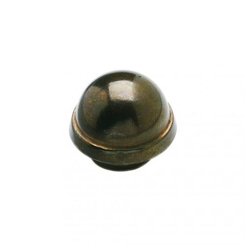 "Rocky Mountain Hardware - Dome Finial Cap 5/8"" Barrel Silicon Bronze Dark"