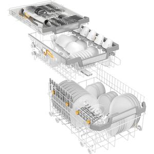 """MieleG 5892 SCVi SL - Fully integrated dishwasher, 18"""" (45 cm) with networking for even greater convenience."""