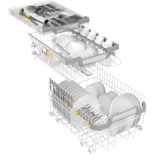 """Miele - G 5892 SCVi SL - Fully integrated dishwasher, 18"""" (45 cm) with networking for even greater convenience."""