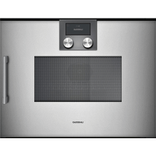 200 Series Combi-microwave Oven 24'' Gaggenau Metallic, Door Hinge: Right, Door Hinge: Right