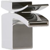 Quarto Lav Faucet Front Flow Chrome