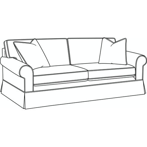 Braxton Culler Inc - Benton 2 over 2 Sofa