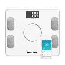 Product Image - Kalorik Home Smart Electronic Body Analysis Scale, White