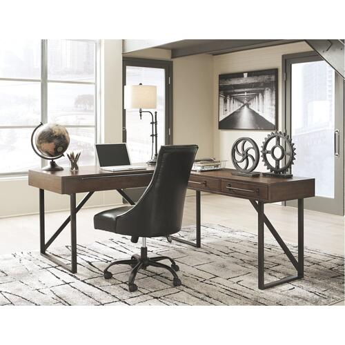 Starmore 2-piece Home Office Lift Top Desk