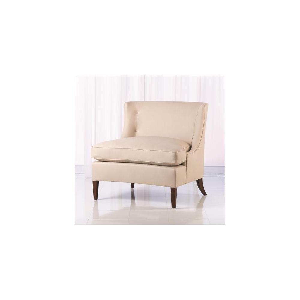 Severn Lounge Chair-Muslin