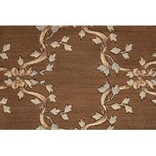 Ashton House Ribbon Trellis A01f Mink Broadloom