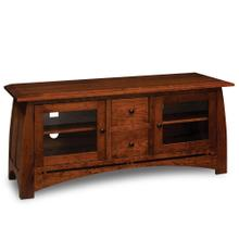 """See Details - Aspen TV Console with Inlay, 60 """"w x 20""""d x 27 """"h"""
