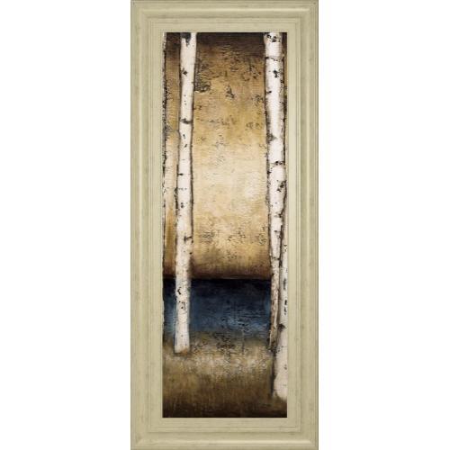 """Classy Art - """"Birch Landing II"""" By St Germain Framed Print Wall Art"""