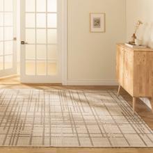 See Details - Vito - Minimalist Lines Area Rug, Ivory, 5' x 8'