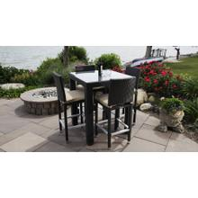 See Details - Ibiza Outdoor Bistro Set for 4