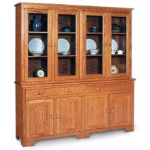 """View Product - Shaker Closed Hutch, 73 """", 19"""" Base"""