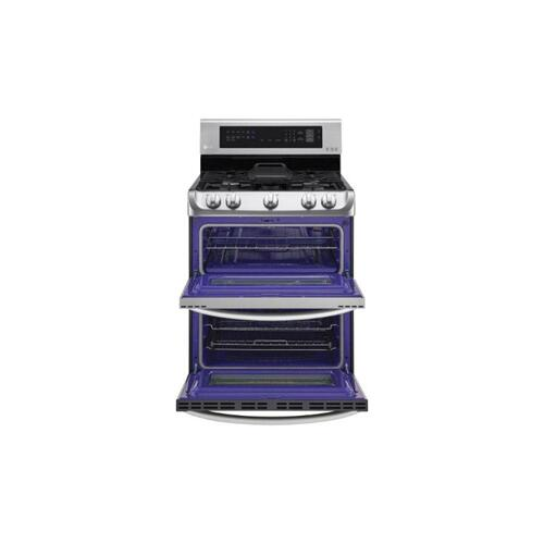CLOSEOUT 6.9 cu. ft. Gas Double Oven Range with ProBake Convection®, EasyClean® and Gliding Rack