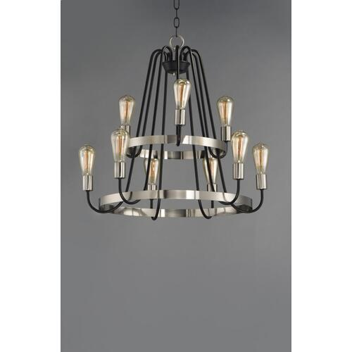 Haven 9-Light Chandelier