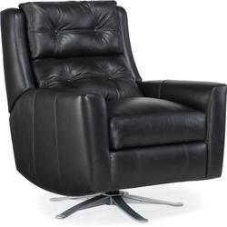 Bradington Young Phoenix Swivel Chair with Metal Base 3102-SW