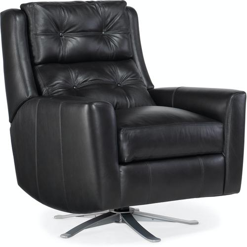 Bradington Young Phoenix Swivel Chair with Metal Base 3102-SW