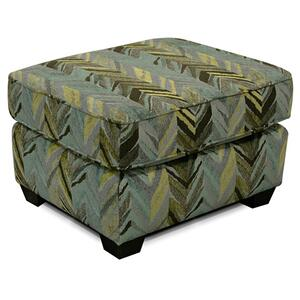 England Furniture307 Smyrna Ottoman