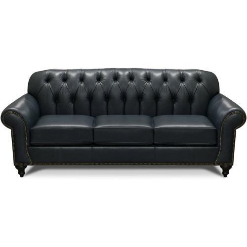 8N05LSN Evan Leather Sofa with Nails