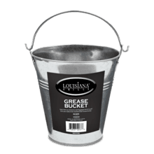 Steel Grease Bucket