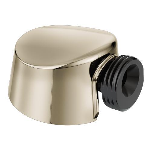 "Moen Polished Nickel Circular Drop Ell for Handheld Showerhead (2.4""L x 1.7""W x 2.5""H)"