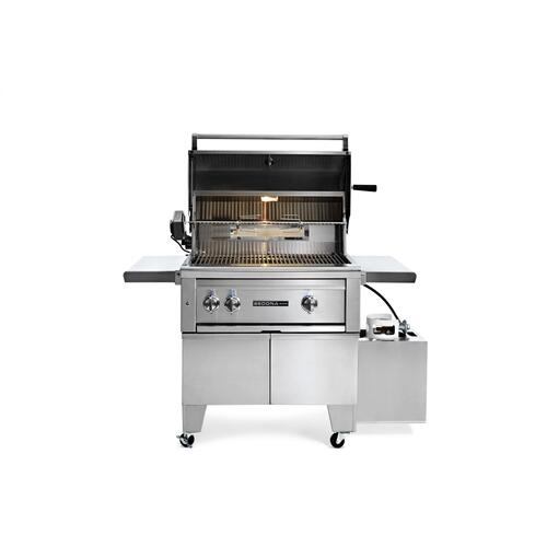 "30"" ADA Grill with Rotisserie NG"