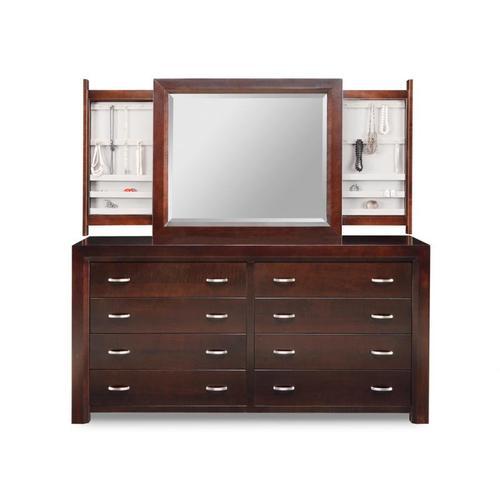 Contempo 8 Drawer Long Dresser