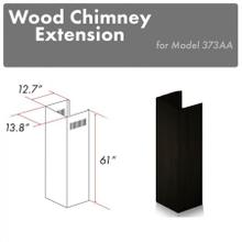 """See Details - ZLINE 61"""" Wooden Chimney Extension for Ceilings up to 12.5 ft. (373AA-E)"""