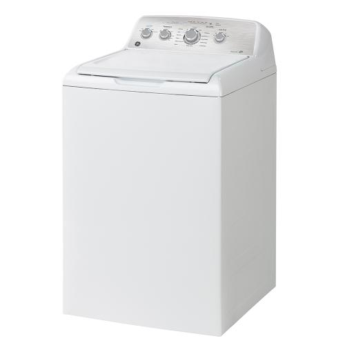 GE 4.9 Cu. Ft. Top Load Washer with SaniFresh Cycle White - GTW451BMRWS