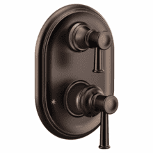 Belfield oil rubbed bronze m-core 3-series with integrated transfer valve trim