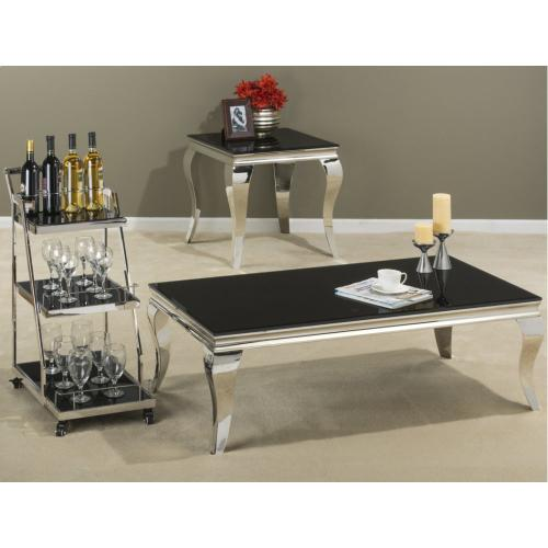 Jofran - Tuxedo End Table
