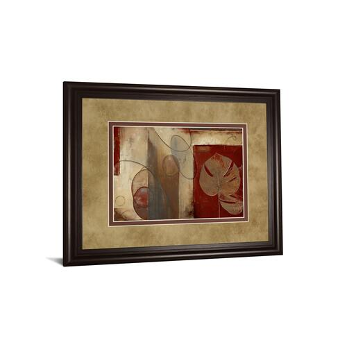 """Gallery - """"Inspiration In Crimson"""" By Patricia Pinto Framed Print Wall Art"""