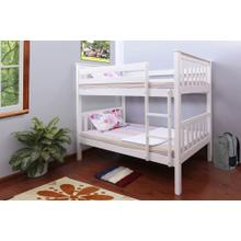 7528 WHITE Mission Bunk Bed
